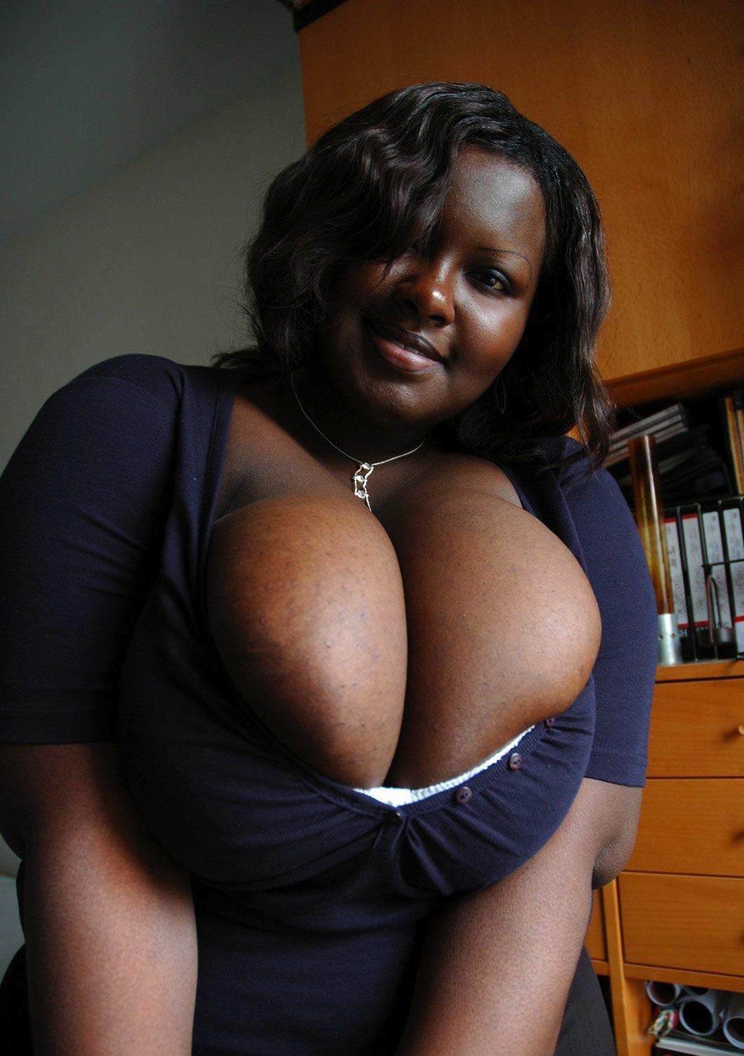Ebony female bukkake