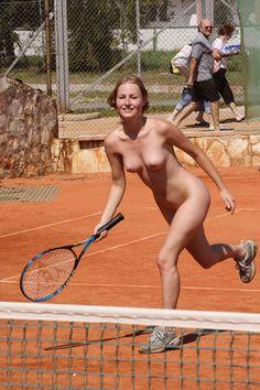 Girl nackt tennis Tennis porn: